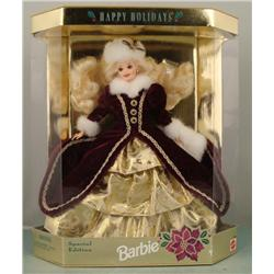 Happy Holidays Barbie 1996 Special Edition MIB NRFB