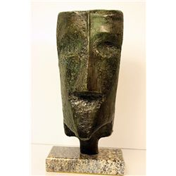 Max Ernst  Original, limited Edition Bronze -HEAD   Y