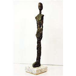 Alberto Giacometti  Original, limited Edition  Bronze - GIRL