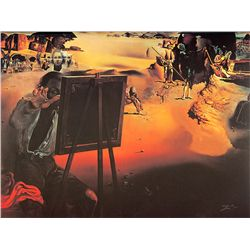 Impressions Of Africa - Dali - Limited Edition on Canvas
