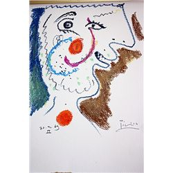 Picasso Original Lithograph - Unknown Title