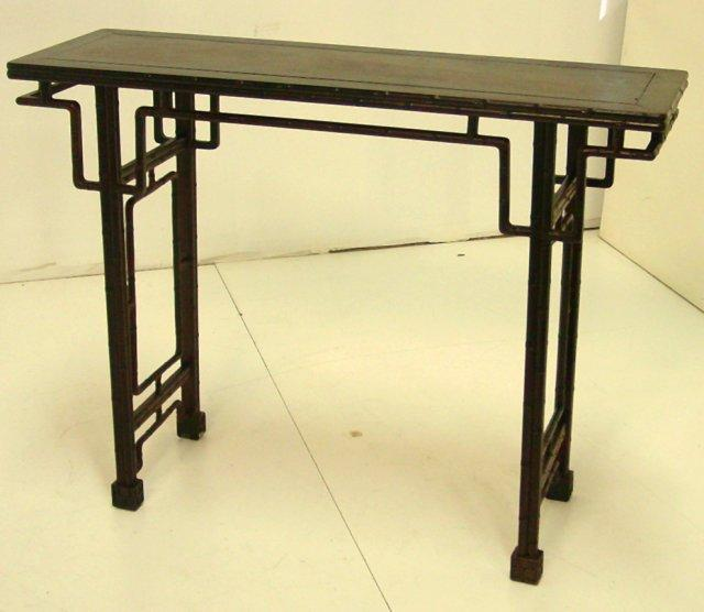 Chinese Zitan Side Table. Loading Zoom