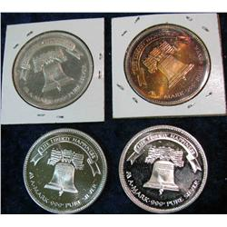1499. 1982, 84, 85, & 86 Life Liberty Happiness A-Mark One Ounce