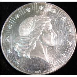 1540. World Wide Mint One Ounce .999 Fine Silver American Eagle.