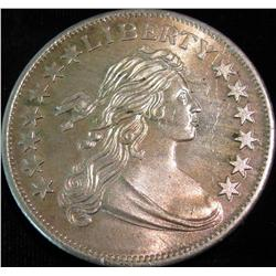 1542. Draped Bust Dollar Design One Ounce .999 Fine Silver.