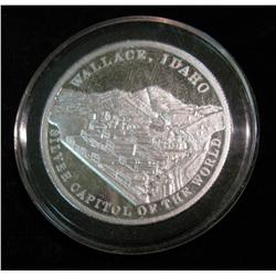 1548. 1884-1984 Wallace, Idaho Silver Capitol of the World 1 Troy Ounce