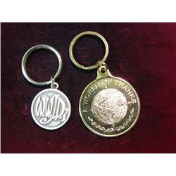 """1585, Ottumwa High School and """"What Would Jesus Do"""" Key rings"""
