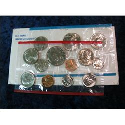 1660. 1980 U.S. Mint Set. Original as issued.