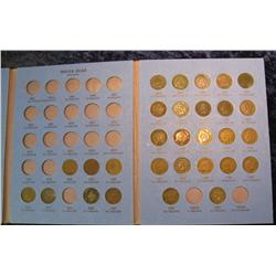 1669. Partial Set of Indian Cents 1880-1909 in a Whitman folder.