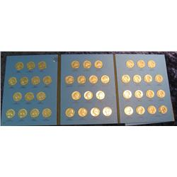 1676. 1965-88 Set of Washington Quarters. No proofs. In a Whitman