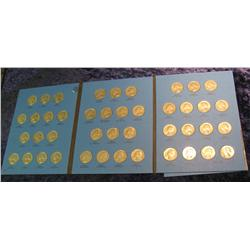 1677. 1965-88 Set of Washington Quarters. No proofs. In a Whitman