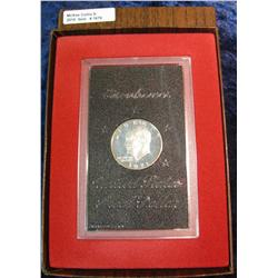1678. 1971 S Silver Eisenhower Dollar. Proof. In original brown box.