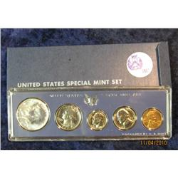 315. 1967 U.S. Special Mint Set in original holder.