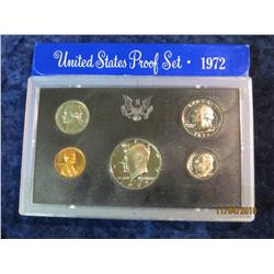 392. 1972 S U.S. Proof Set. Original as issued.