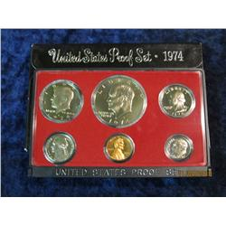 394. 1974 S U.S. Proof Set. Original as issued.