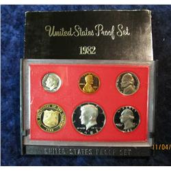 398. 1982 S U.S. Proof Set. Original as issued.