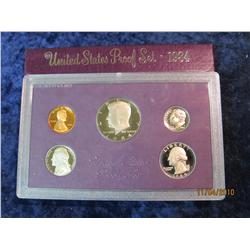 399. 1984 S U.S. Proof Set. Original as issued.