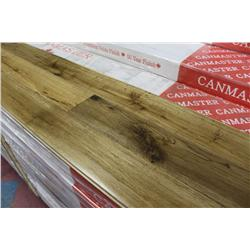 CANMASTER WIDE PLANK HAND SCRAPED SMOKED OAK