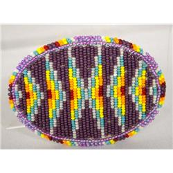 Apache Beaded Belt Buckle