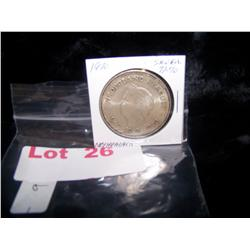 1970 Netherlands 10 Guilden Coin 72% Silver