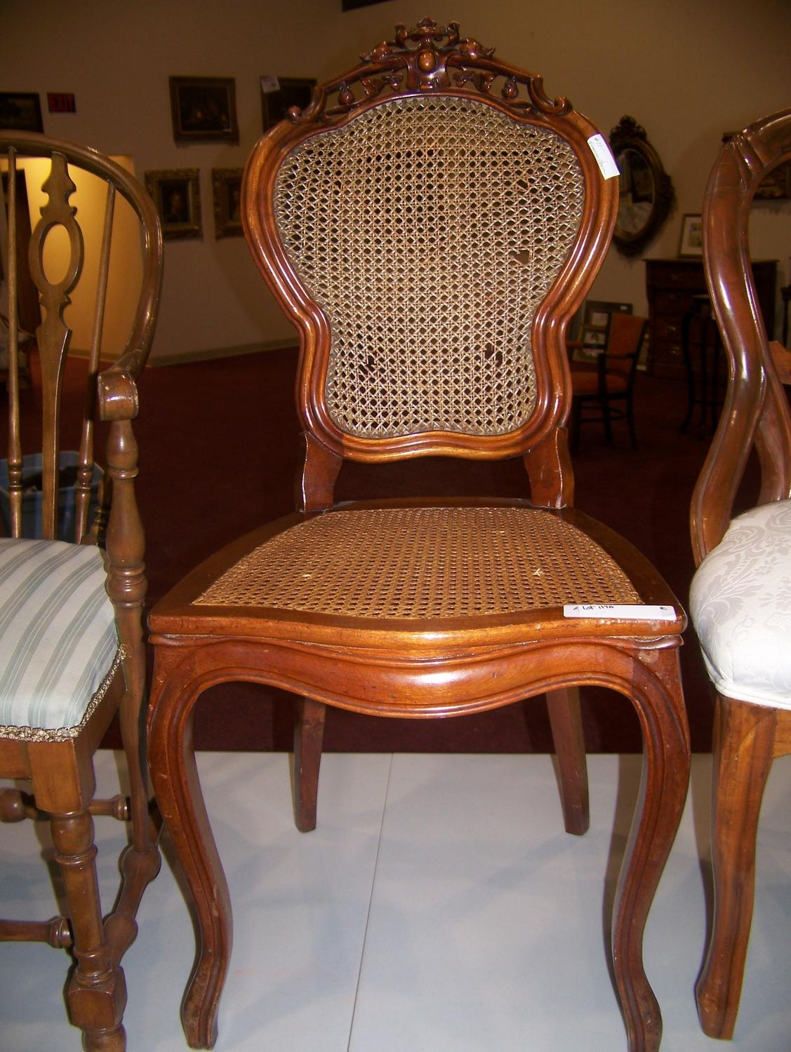 Choice Of Three Fine Antique Chairs Victorian Chair