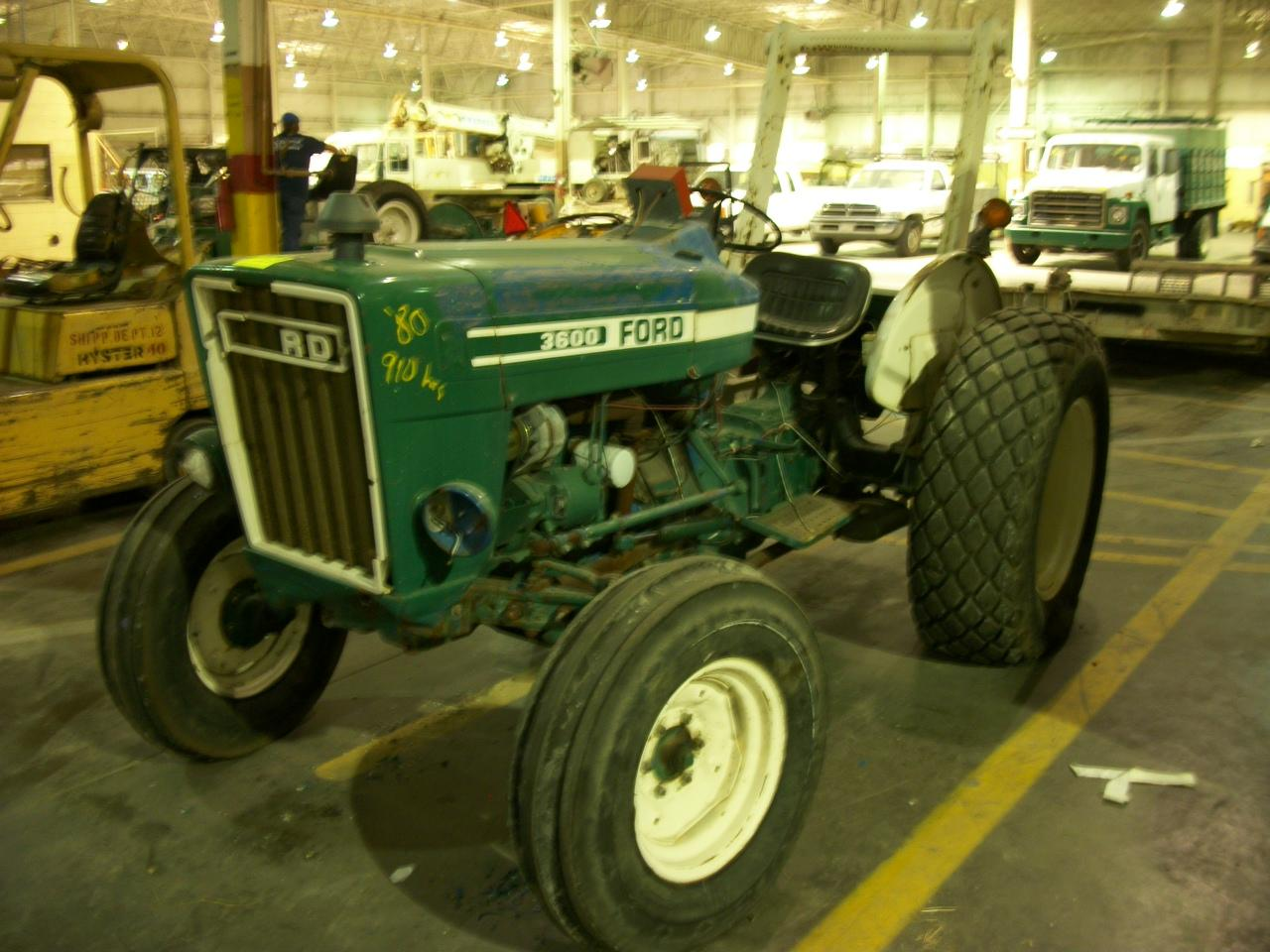 Ford 3600 Tractor : Ford tractor