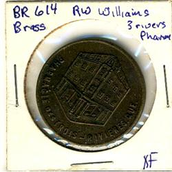 Breton: 614 Brass, R.W. Williams Three Rivers Pharmacy EF