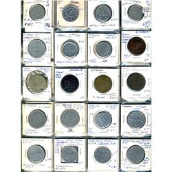 Ontario. Various dairy and merchant tokens from Ottawa.  (148 pieces)