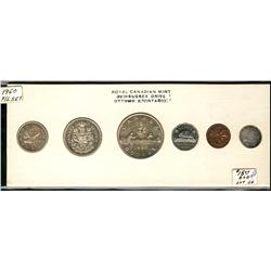 Proof-like set, 1960, original.  Coins are brilliant with light cameos.  The cent is ftoned.