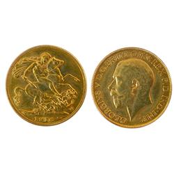 1916c Gold Sovereign ICCS MS63PQ++.  Considered The RAREST Canadian coin!  This lovely example is we