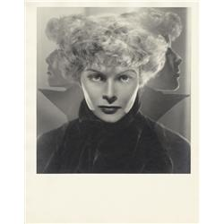 Katharine Hepburn oversize gallery portrait from Alice Adams by Ernest A. Bachrach