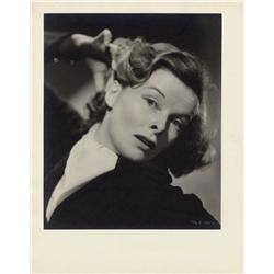 Katharine Hepburn oversize gallery portraits from A Woman Rebels by Ernest A. Bachrach