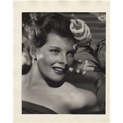 Katharine Hepburn oversize gallery portrait from Quality Street by Ernest A. Bachrach