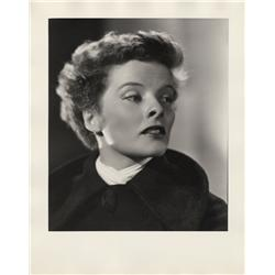 Katharine Hepburn oversize gallery portraits from Quality Street by Ernest A. Bachrach