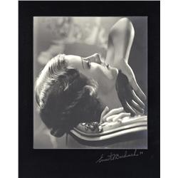 Irene Dunne oversize exhibition portrait from The Silken Chord by Ernest A. Bachrach