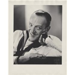 Fred Astaire oversize gallery portrait from Follow the Fleet by Ernest A. Bachrach