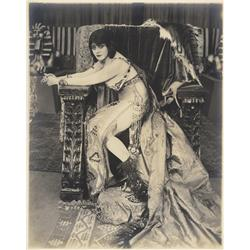 Theda Bara portraits from Cleopatra by Albert Witzel Studio