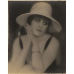 Theda Bara portrait by Hoover Art Co.