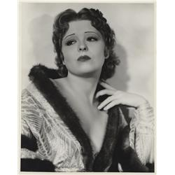 Clara Bow oversize gallery portrait from Call Her Savage by Hal Phyfe