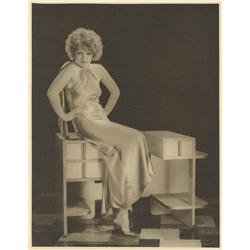 Clara Bow oversize gallery portrait from Her Wedding Night by Eugene Robert Richee