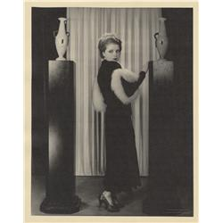 Clara Bow oversize gallery portrait from No Limit by Eugene Robert Richee