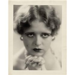 Clara Bow oversize gallery portrait by Eugene Robert Richee