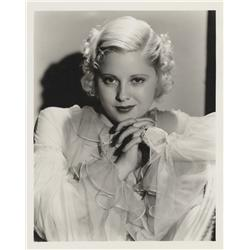 Mary Carlisle gallery portrait by George Hurrell