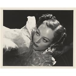 Joan Crawford gallery portrait by George Hurrell