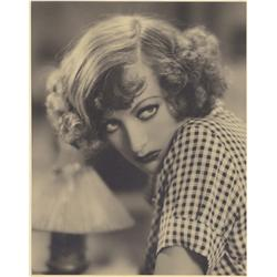 Joan Crawford oversize gallery portrait from Rain by John Miehle