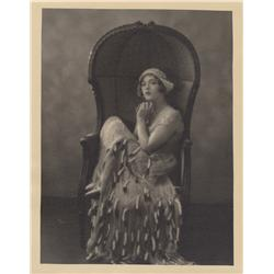 Marion Davies oversize gallery portrait by Ruth Harriet Louise