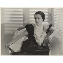 Dolores Del Rio oversize gallery portrait from Bird of Paradise by Ernest A. Bachrach