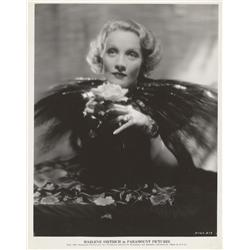 Marlene Dietrich gallery portrait from The Scarlet Empress by Eugene Robert Richee