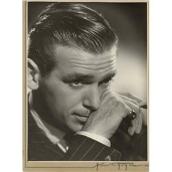 Douglas Fairbanks Jr. oversize exhibition portrait