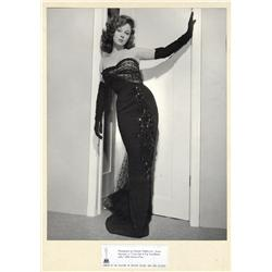 Susan Hayward oversize exhibition portrait from I Can Get It For You Wholesale by Frank Powolny